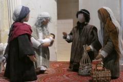 Begegnung mit Simeon und Hanna im Tempel