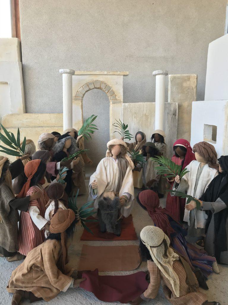 Palmsonntag. Einzug von Jesus auf einer Eselin in Jerusalem. Kantate von J.S. Bach zu Palmsonntag.